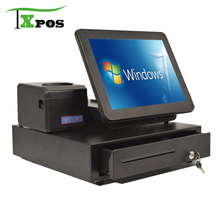TAIXUN windows7 5 wires resistive touch screen all in one cash register