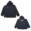Custom lightweight nylon outdoor men's windbreaker jacket with hooded