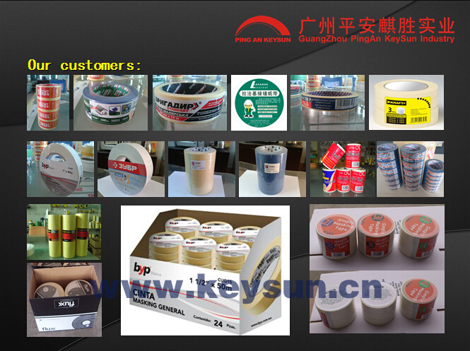 high quality and best price masking tape jumbo roll