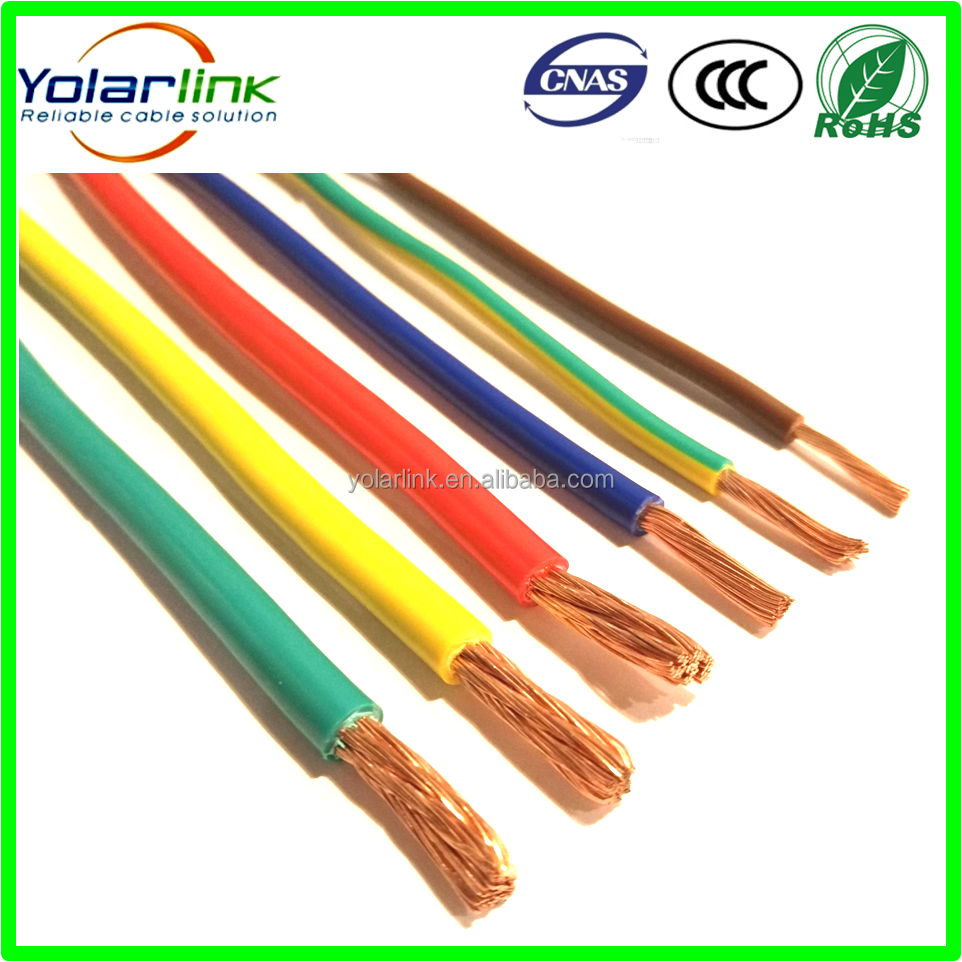 PVC copper conduct flexible electrial cable housing wiring electric <strong>wire</strong> 4mm2