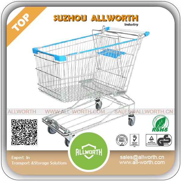 Plastic Shopping Cart supermarket Kids Shopping Trolley