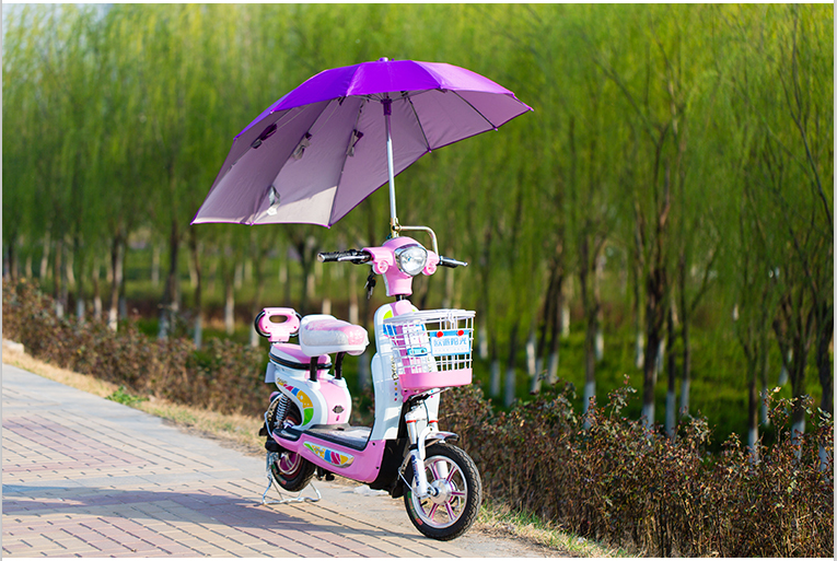 Wholesale Windproof and Waterproof Motorcycle Umbrella Bike Rain Umbrella
