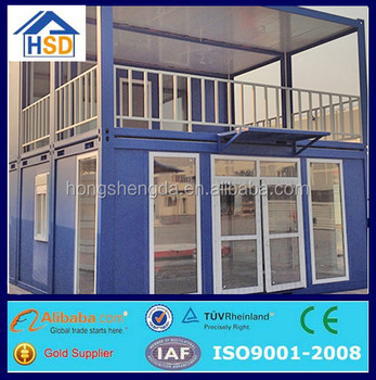 cheap ready assembled mobile modular shipping container office