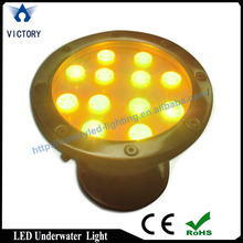 CE and RoHS approved IP6 5led rgb swimming pool light 12v,underwater light