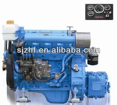 HF-480M small inboard marine diesel engine with gearbox