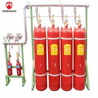FM 200/HFC227 for fire extinguishing system