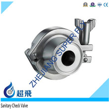 Hot Sale Clamped Check Valve Price Low Medical Check Valve Stainless Steel FLange Check Valve Pipe Food Grade Sanitary
