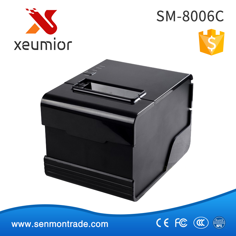 High Printing 260mm sec 80mm Thermal POS Printer with Auto Cutter SM-8006C