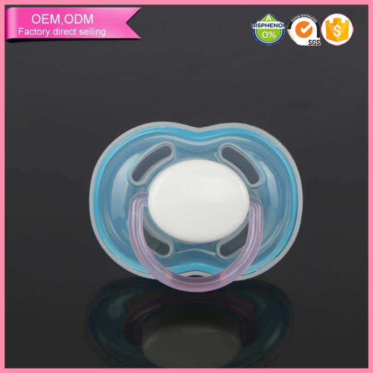 Wholesales unique baby pacifiers cute animals silicone nipple