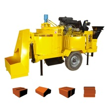 M7M4 stabilized soil wall building block machine