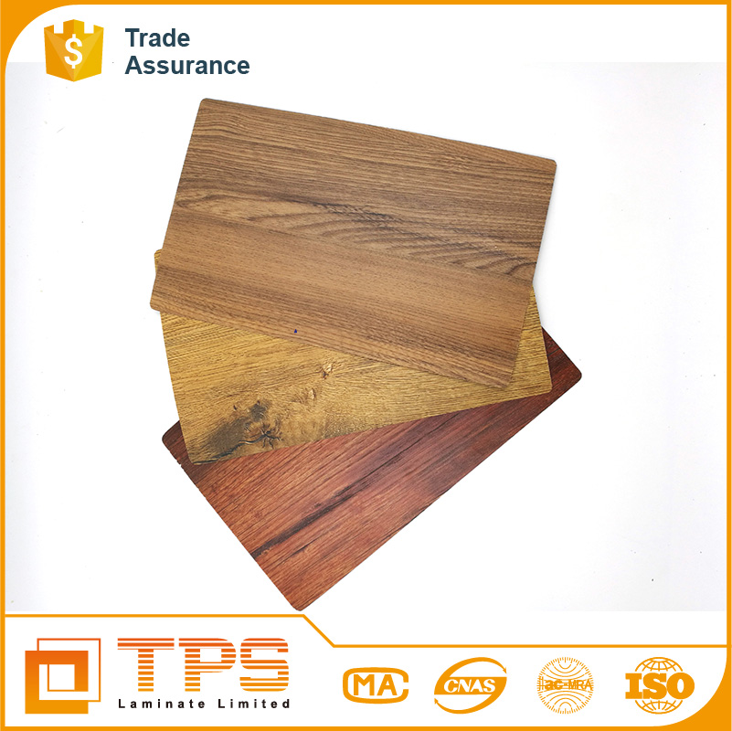 Synchronized Wood Grain HPL Used for Metal Laminate Sheet