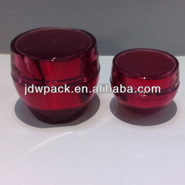 cosmetic cream jar empty cosmetic packaging plastic container