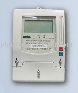 M-bus remote reading & controlling electricity meter(three phase)