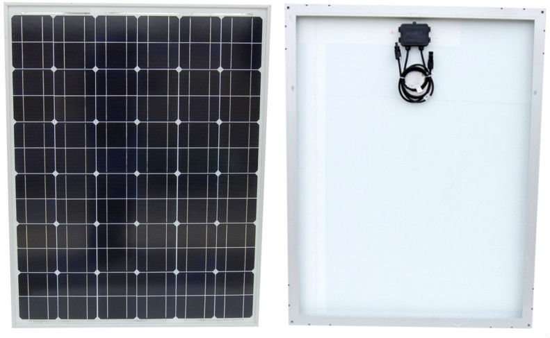 Lot of 5 120W Mono-crystalline Solar Panels 120 Watt 12 Volt in Anodized Aluminum Frame