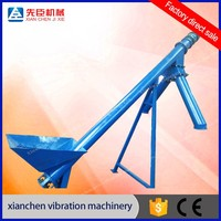 Automatic Flexible Grain / Powder / Fertilizer Screw Auger Feeder Machine
