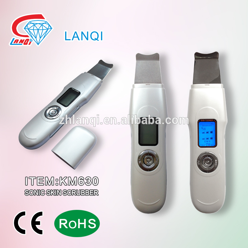 Factory Supply skin care lcd ultrasonic cleaners