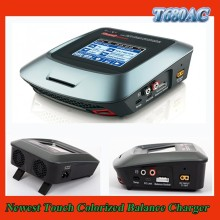 The latest T680AC Touch 80 Watt AC/DC RC aiplane/helicopter/quadcopter/car battery charger