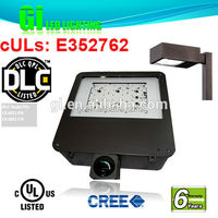 Top quality 6 years warranty DLC retrofit LED parking light