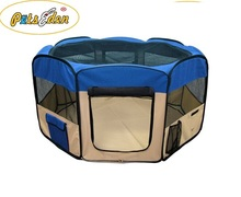 New Soft Fabric Pet Playpen Exercise Puppy Dog Cat PlayPen Kennel Folding Crate low price