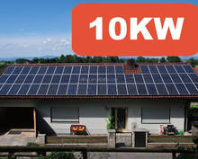 Hot !!! HIGH EFFICIENCY OFF GRID 10kw solar panel system