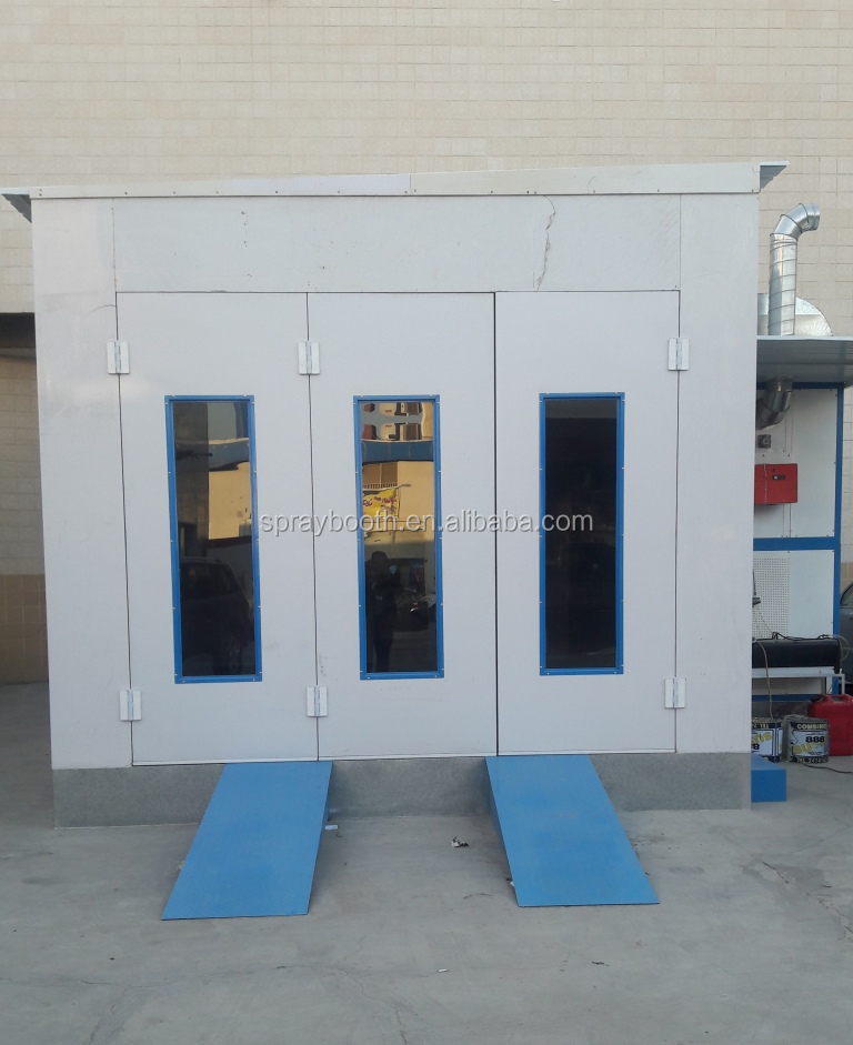 Hot sales spraying booth used spray booth for sale ( 2 years warranty time)