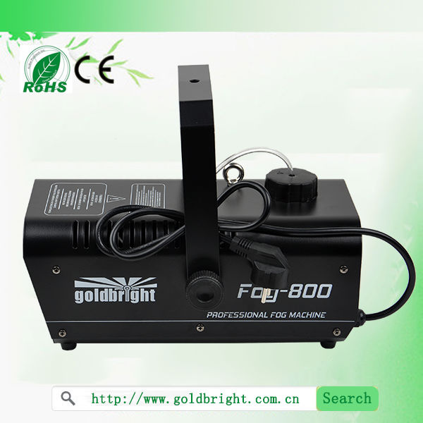 Remote 800W Hazer fog machine, haze smoke machines stage lighting smoke generator DJ equipment
