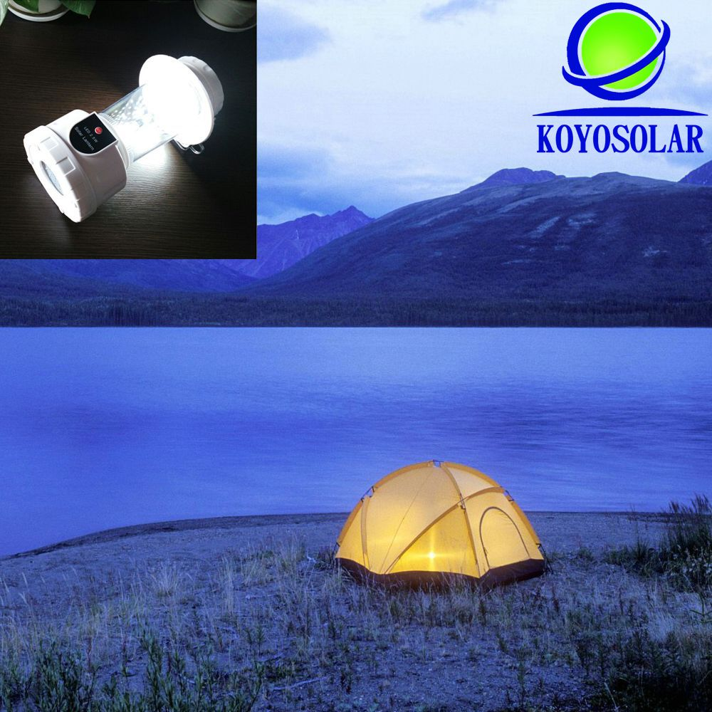 2G11 Base Type and ABS Lamp Body Material solar lantern
