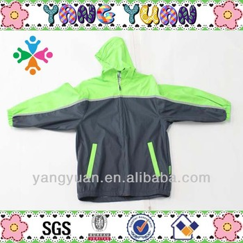 100% pu kid wear raincoat