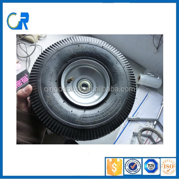 China hot sell 10 inch pneumatic rubber wheel