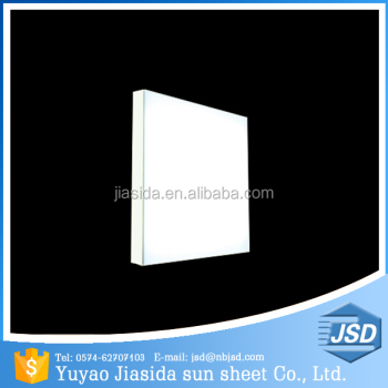Yuyao Jiasida Hot Sale Milk White LED Light Diffuser PC Sheet