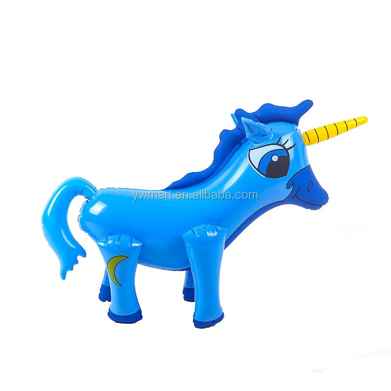 Durable plastic pvc inflatable animal toys for kids