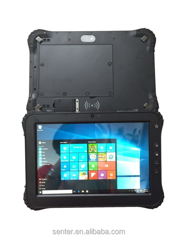 10.1 inch Android/Win10 rugged waterproof Tablet PC support finger identification /NXP NFC(13.56M)