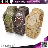 100%Healthy Bewell Eco-friendly Natural Wooden Bamboo Watch q&q Japan Movt Watch