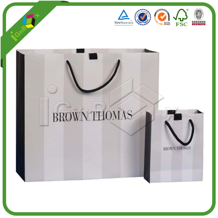 China Manufacture Wholesale Promotion Fancy small Printed Paper Bag, Gift Bag