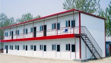 steel frame apartment building/ prefabricated steel frame house
