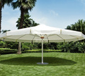 Factory Wholesale big semi-automatic garden patio umbrella beach umbrella