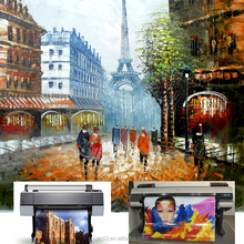 high quality Canvas Print painting paris street landscape wall Print Art decor painting