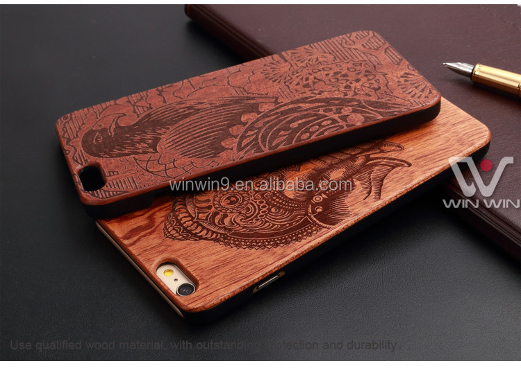 mobile phone covers Blank Wood hone Cover for Iphone 6/6s