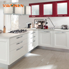 2018 UK University High Quality Solid Wood Kitchen Cabinet