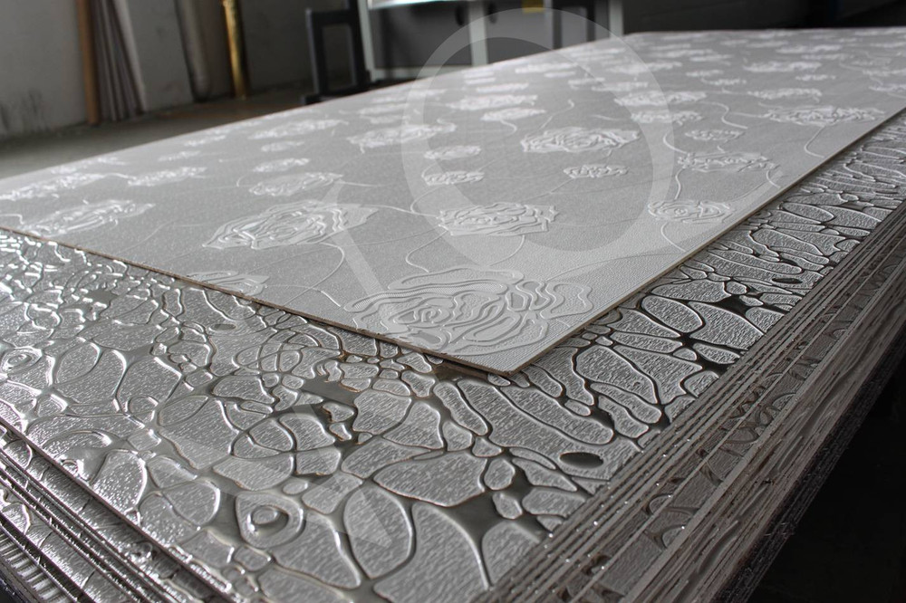 Embossed MDF for Wall Paneling / 3d Embossed Board