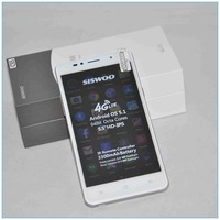 China Shenzhen Unlocked 4G Lte Smartphone Android 5.1 Quad Core Siswoo C55 wifi smartphone