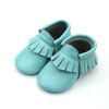 Hot selling baby shoes genuine leather moccasin leather Shoes for USA market