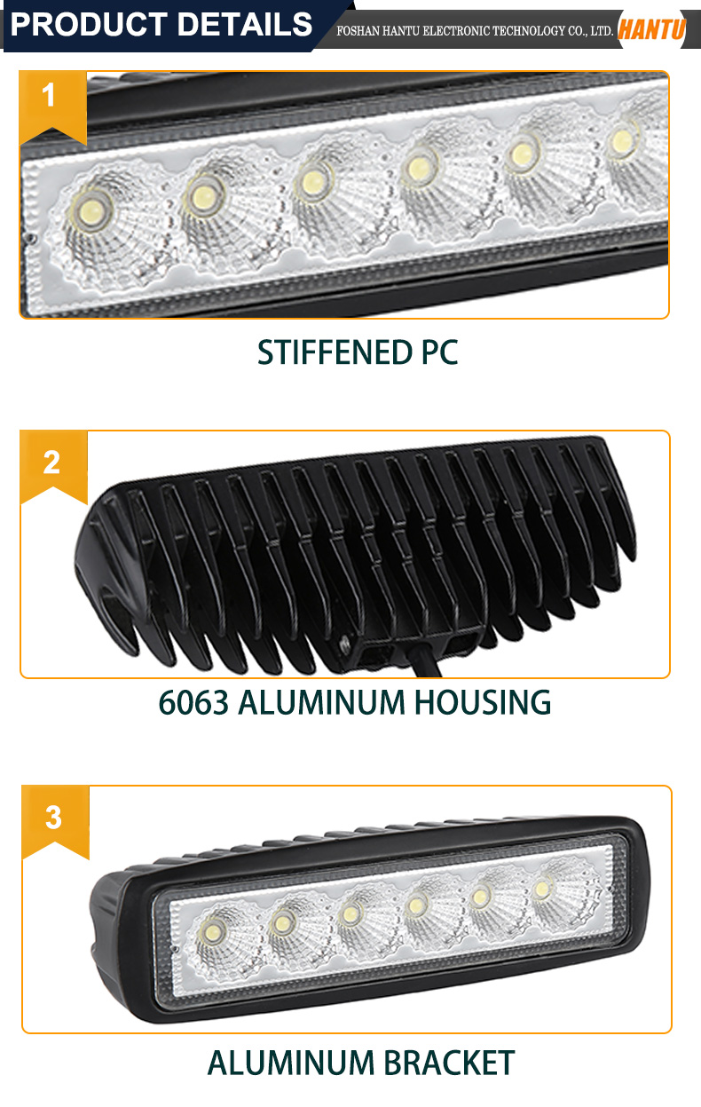 high power led driving lights driving beam work light for heavy duty vehicle h4 led headlight