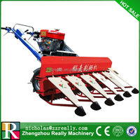 Diesel engine reaper machine,self-walking hand reaper for rice and wheat