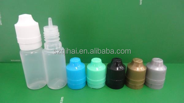 10ml e cigarette, e-liquid,e-juice container, LD PE plastic e-liquid dropper bottles