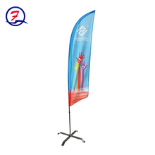 wholesales cheap custom large format feather flags for soccer