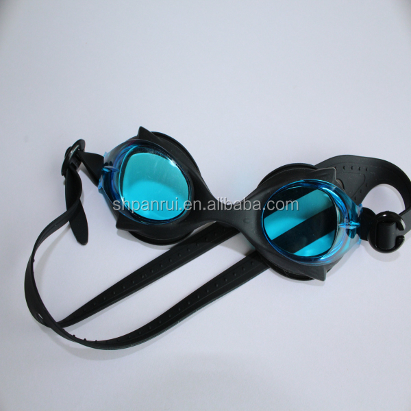 Hot selling high quality shark kids swimming goggles supplier