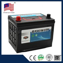 factory direct sell jis style quick start long life full capacity china supplier 55d23r mf car battery