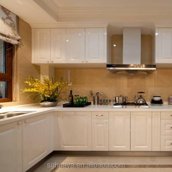 Kitchen Cabinets Pvc Foam Board Wood Grain Effect Kitchen Cabinet Modular Kitchen  Cabinet Design