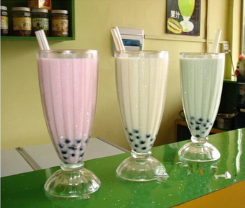 glass milkshake cup milk shake cups